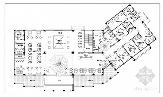 西班牙风情售楼处装修概念方案
