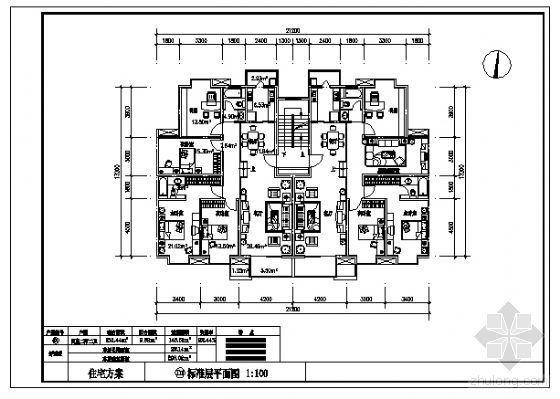四室两厅两卫(146.51m2)