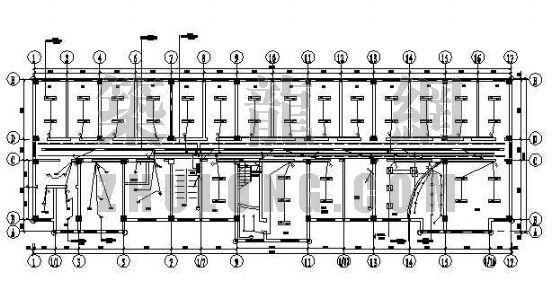 某办公楼电气竣工图