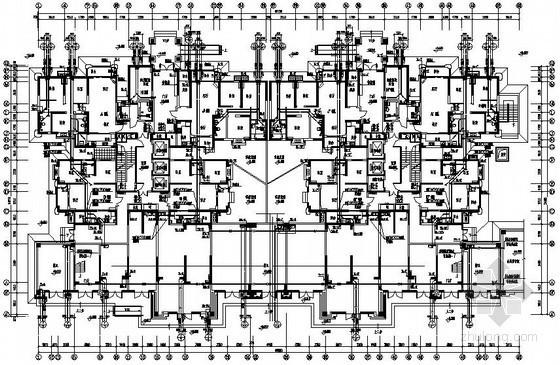 [陕西]高层商住楼给排水施工图纸(含2栋楼)