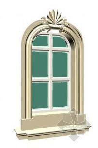 欧式窗及窗套3