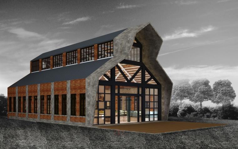 建筑面积为4073.3平米,五层框架办公楼(计算书、建筑、结构图、