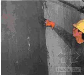 现浇混凝土燕尾槽聚苯板面砖饰面外墙外保温施工工法