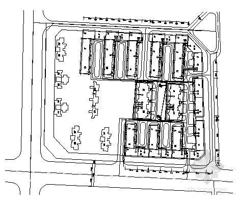 [成都]住宅小区室外电气施工图纸