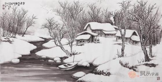 吴大恺国画山水画真迹 一场视觉的饕餮盛宴图片