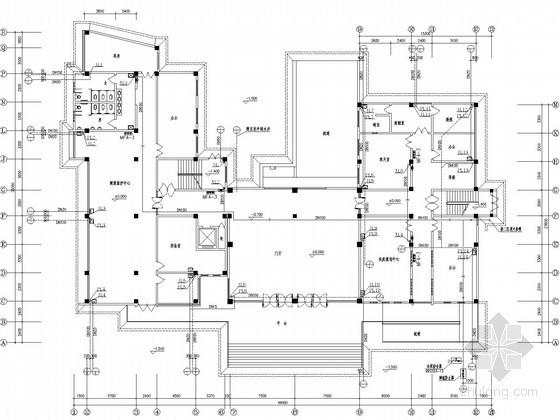 [河北]市级疾控中心业务楼给排水施工图