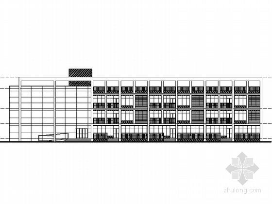 现代风格多层幼儿园设计方案图(含效果图)