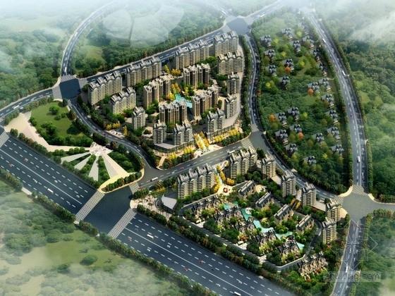 [安徽]大型住宅区规划及单体设计方案文本