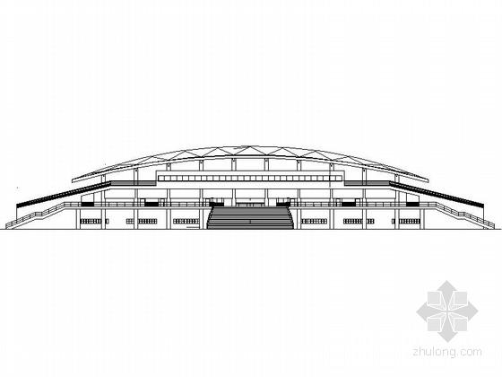 [南京]现代大学主体育场建筑设计扩初(知名设计院)