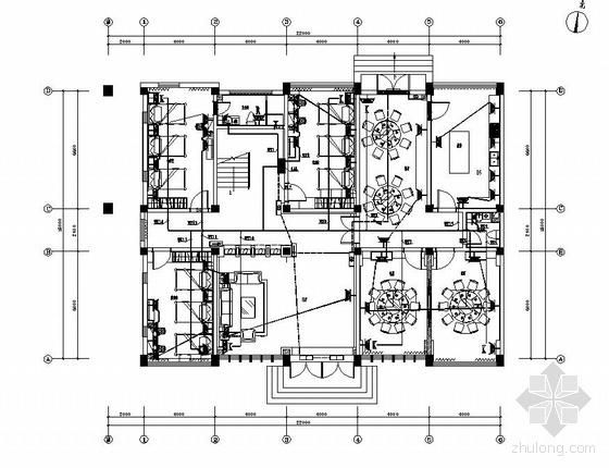 某物资仓库三层办公楼电气施工图