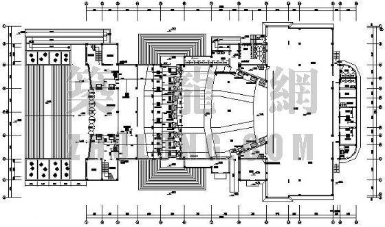 VRV空调设计图资料下载-某剧院VRV空调设计图
