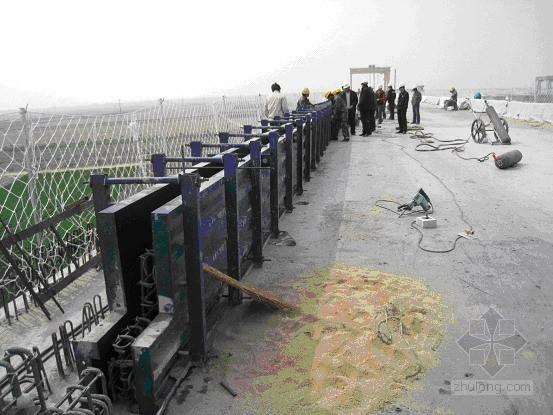 京沪高速铁路某段桥面附属工程施工作业指导书