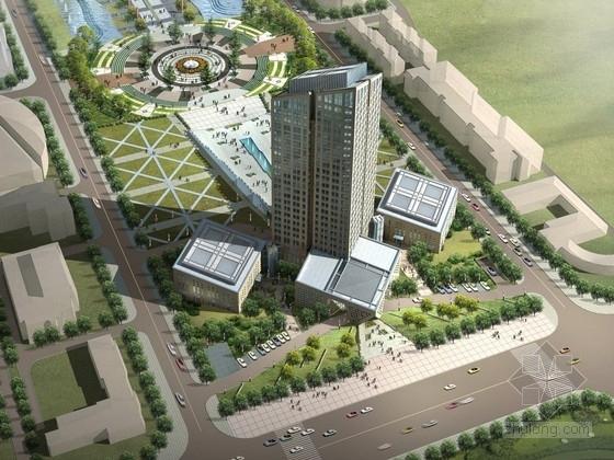 [广东]23层高层五星级酒店建筑设计方案文本