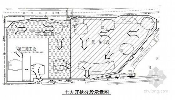 温州某高层建筑地下室土方开挖施工方案