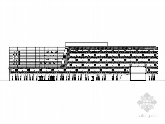 [北京]某三层工厂员工宿舍建筑方案图