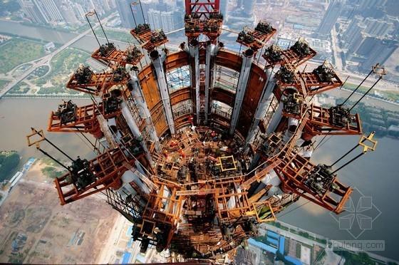 [广东]超高层电视塔土建结构四项关键施工技术研究(130页,丰富图片)