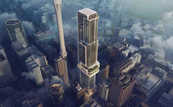 奥克兰市中心高层建筑竞赛公布!扎哈、伍兹·贝格等五家事务所入_1