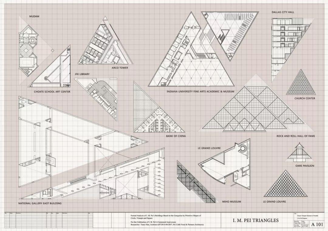 致敬贝聿铭:世界上最会用「三角形」的建筑大师_5