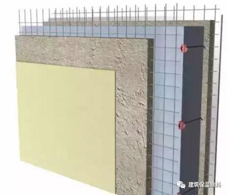 外墙保温施工体系:聚苯模块+机喷混凝土现浇墙体节能技术