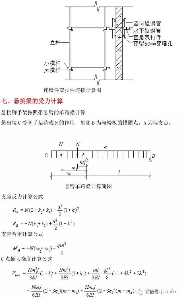 型钢悬挑脚手架计算书_8