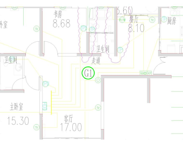 海湖新区电力住宅小区电气设计图纸大全(含住宅部分与商铺部分)_2
