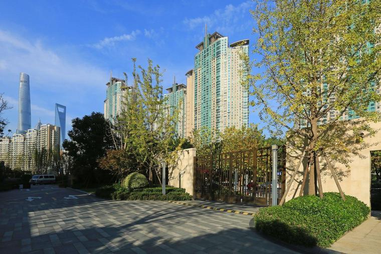 上海保利ONE56住宅景观-1