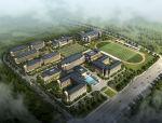 [浙江]杭州外国语学校初高中建筑设计方案文本(简洁典雅,大气开放)