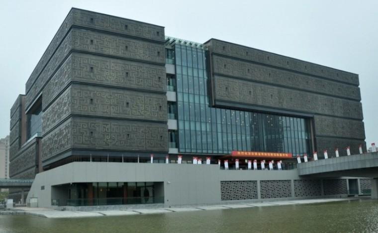 省级多层博物馆全套施工图(强弱电、水暖、建筑、结构、)