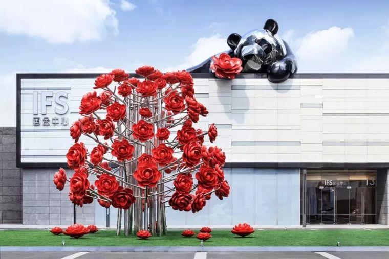 hold住景观雕塑,给空间气质加分!