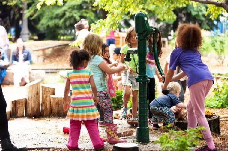 耳目一新的儿童活动景观!