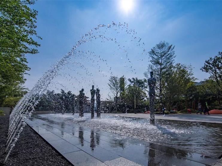 广州万科桃源里展示区景观