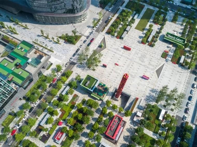 宁波东部新城中央广场