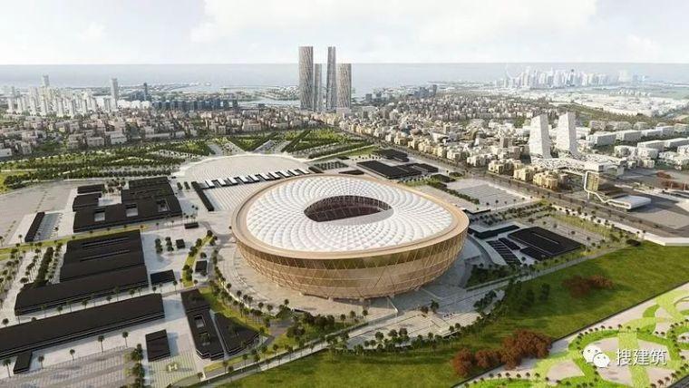 福斯特设计:2022年卡塔尔世界杯足球场