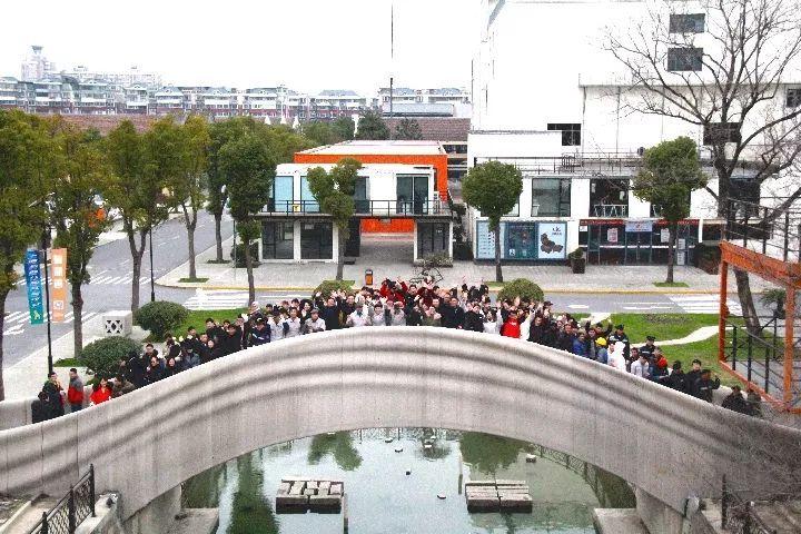 围观!3D打印的混凝土桥在上海现身