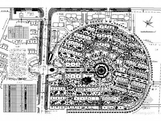 [宁波]滨江道路绿化带景观规划设计施工图