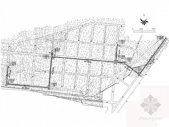 [北方]重工业园区市政排水管线竣工图