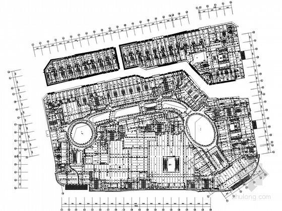 [福建]24万平购物中心给排水全套图纸(大空间灭火 雨水综合利用)