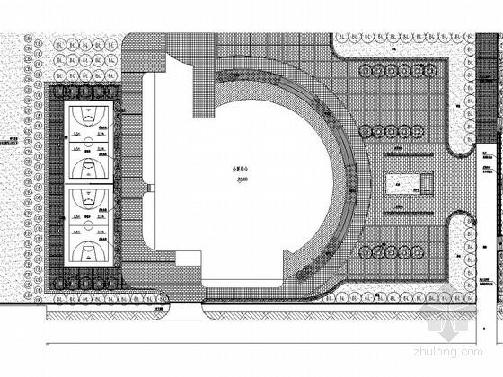 [河北]城市民主文化广场二期景观施工图