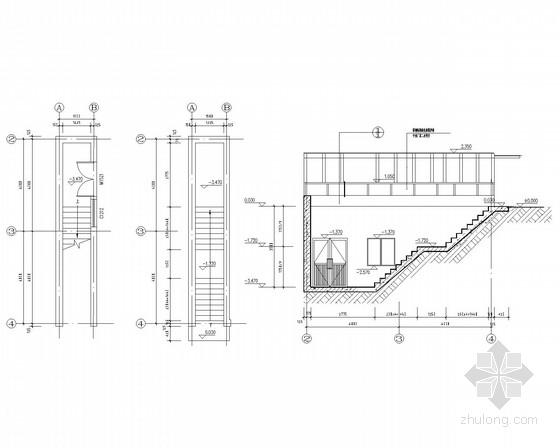 消防水池及泵房框架结构施工图(含结施)