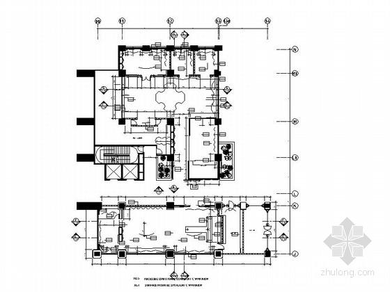优雅浪漫法式餐厅及雪茄吧室内装修图(含效果图)