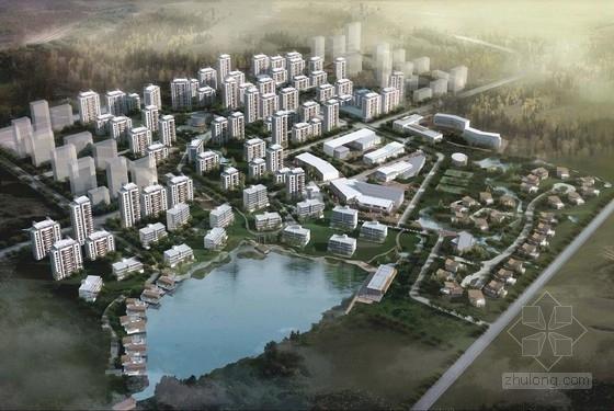 [天津]欧式风格高品质老年社区规划设计方案文本