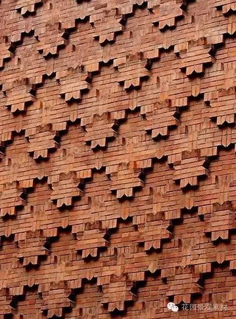 木和砖造景的美_10