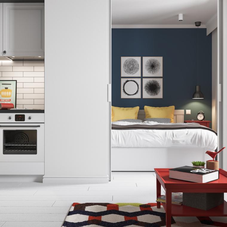 明斯克:丰富有趣的公寓改造_7