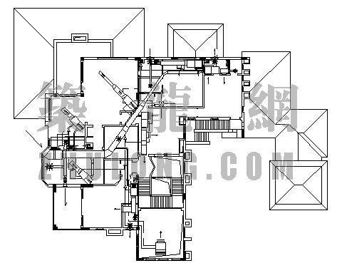 超豪华别墅VRV-2空调设计