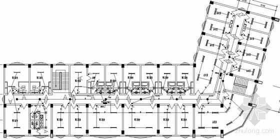 某汽车客运站电气设计图