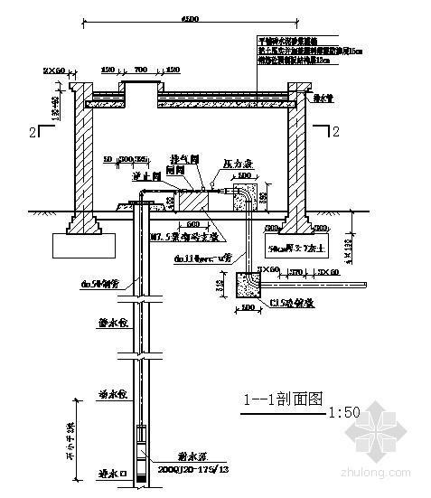 机井设计图