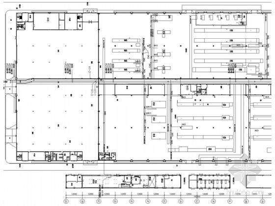 纺织加工工厂通风系统设计施工图(含空压、蒸汽、燃气系统)