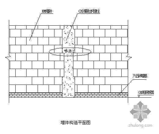 苏州某工程砖砌体施工方案(烧结大孔砖)