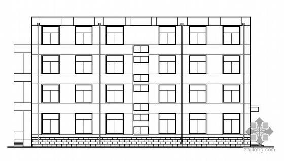 某四层聋哑学校教学楼建筑设计方案