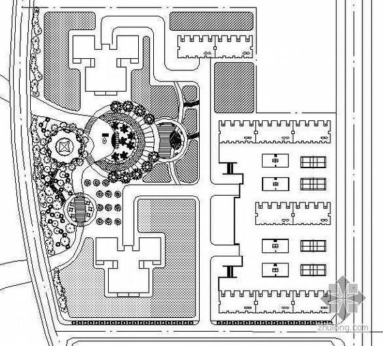 [吉林]某居住区组团绿地规划设计